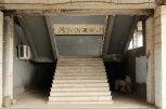 Treppe im Univermag in Tskaltubo.