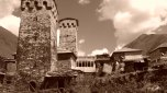 Die Türme sind die ikonographischen Repräsentationen Ushgulis.