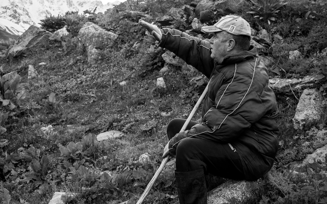 Porträt | Teimuraz Nizharadze – Der letzte Direktor der Sowchose (Ushguli, Georgien)